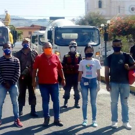 Diario Frontera, Frontera Digital,  ALCALDÍA DE SUCRE, MÉRIDA, DESINFECCIÓN, Regionales, ,Alcaldía de  Sucre ejecutó jornada de desinfección  en San Juan de  Lagunillas