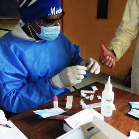 Diario Frontera, Frontera Digital,  test rápido, covid-19, Páramo, ,ASIC Mucuchíes realizó test del COVID-19  a 58 trabajadores de la salud