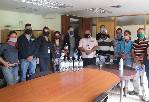 Diario Frontera, Frontera Digital,  ENTREGA DE INSUMOS, Regionales, ,INSUMOS,Comunicadores sociales del estado Mérida  recibieron insumos de seguridad