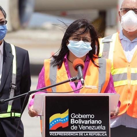 Diario Frontera, Frontera Digital,  DELCY RODRÍGUEZ, Nacionales, ,Arriba a Venezuela sexto cargamento de ayuda humanitaria procedente de China