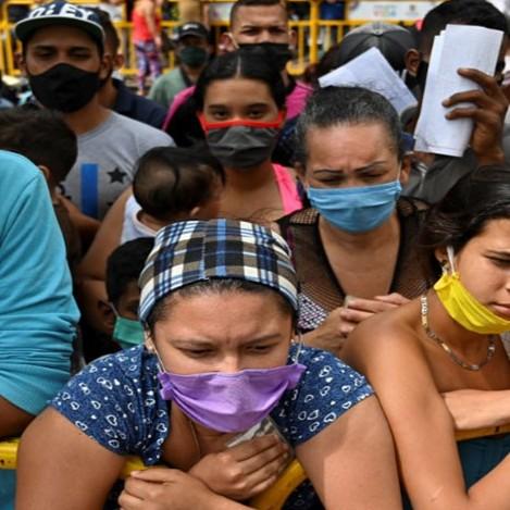 Diario Frontera, Frontera Digital,  CAMPAMENTOS, Internacionales, ,Instalaron campamento humanitario  en Tienditas para refugiados venezolanos