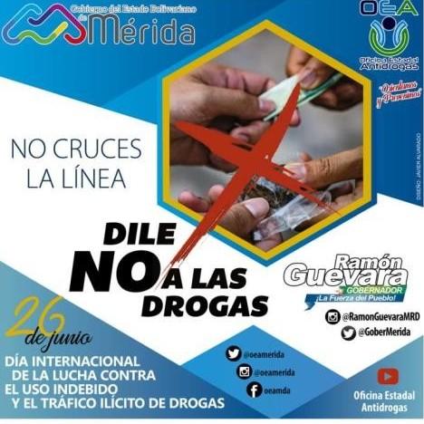 Diario Frontera, Frontera Digital,  Oficina Estadal Antidrogas, Regionales, ,OEA se sumó a la campaña  contra el uso indebido y tráfico ilícito de drogas