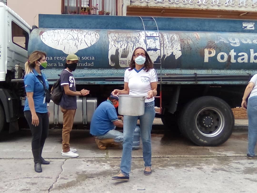 Diario Frontera, Frontera Digital,  AGUAS DE MÉRIDA, Regionales, ,Comunidad de Belén recibió asistencia por falla temporal de agua
