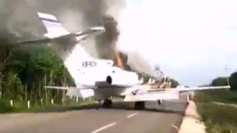 Diario Frontera, Frontera Digital,  avión, Internacionales, ,Derriban en México aeronave  que supuestamente despegó de Venezuela
