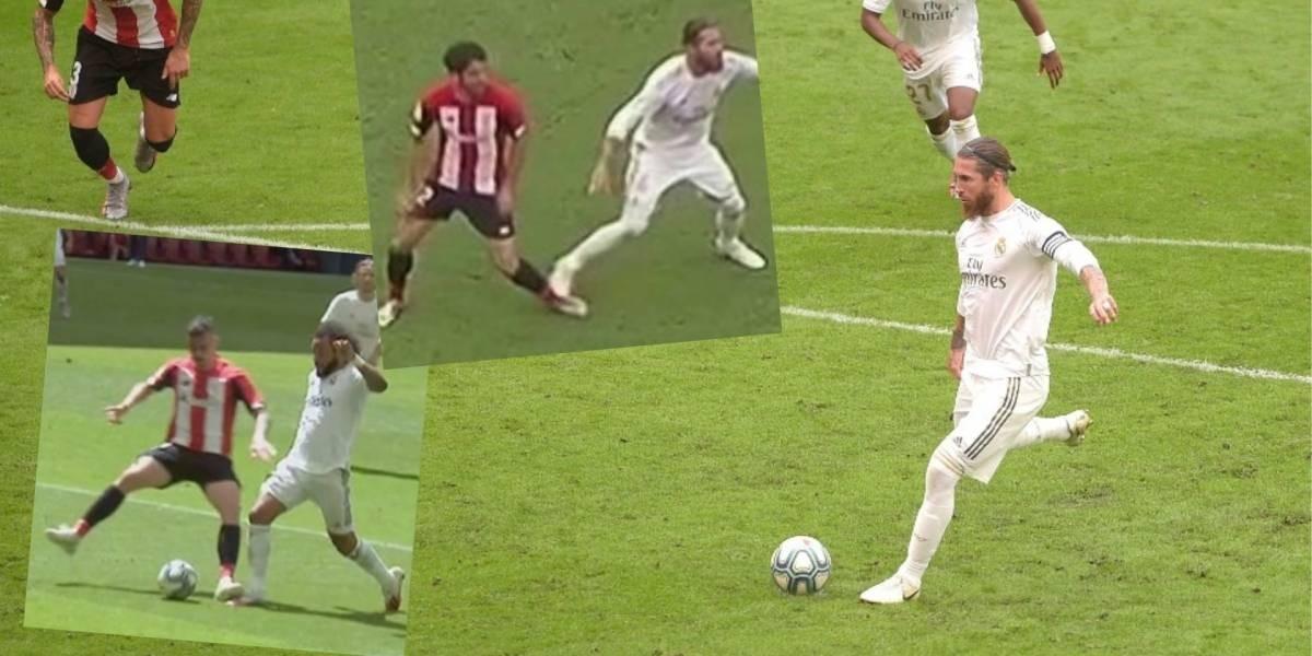 Diario Frontera, Frontera Digital,  REAL MADRID, Deportes, ,Otro penalti marcado  por Ramos acerca al Madrid al título