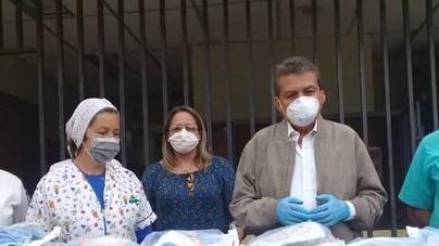 http://www.fronteradigital.com.ve/Gobernador garantiza dotación de insumos  al personal sanitario en el Valle del Mocotíes