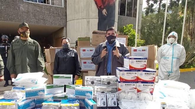 http://www.fronteradigital.com.ve/Jehyson Guzmán entregó medicamentos  e insumos de protección  a organismos de seguridad