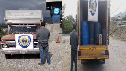 http://www.fronteradigital.com.ve/CNPB-Ejido detiene a ciudadano por  contrabando de combustible con 700 litros en el punto de contención