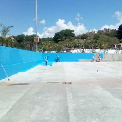 """Diario Frontera, Frontera Digital,  piscina olímpica de la urbanización """"Don Luis"""", Deportes, ,Continúa recuperación de la  piscina olímpica de la urbanización """"Don Luis"""""""