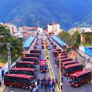 Diario Frontera, Frontera Digital,  JEHYSON GUZMÁN, Politica, ,Jehyson Guzmán mostró los 30 autobuses  enviados a Mérida por el presidente Maduro