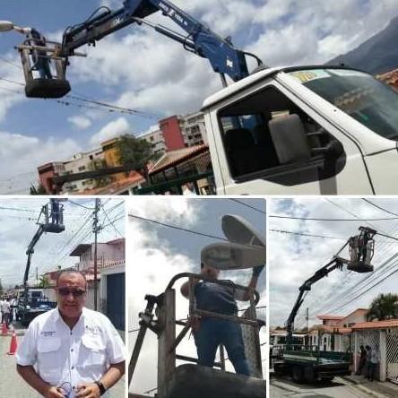 Diario Frontera, Frontera Digital,  ALCALDÍA DE MÉRIDA, LUZ LED CON PANELES SOLARES, Regionales, ,Alcaldía de Mérida instaló en la Don Pancho luminarias led con paneles solares