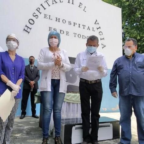 Diario Frontera, Frontera Digital,  HOSPITAL II EL VIGÍA, Panamericana, ,Hospital II El Vigía llevará  el epónimo del Dr. Adán Muñoz Callejas