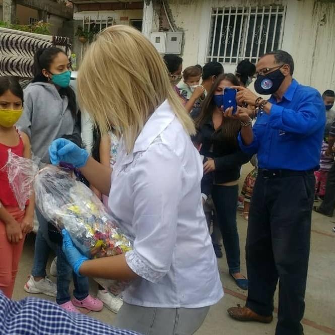 Diario Frontera, Frontera Digital,  ALCALDÍA DE MÉRIDA, Regionales, ,La Alcaldía de Mérida entregó cotillones a niños y niñas