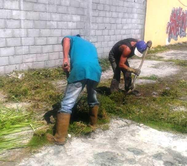 Diario Frontera, Frontera Digital,  ALCALDÍA DE MÉRIDA, CEMENTERIOS MUNICIPALKES, LIMPIEZA, Regionales, ,Alcaldía de Mérida realiza operativo  de limpieza en  Cementerio Municipal