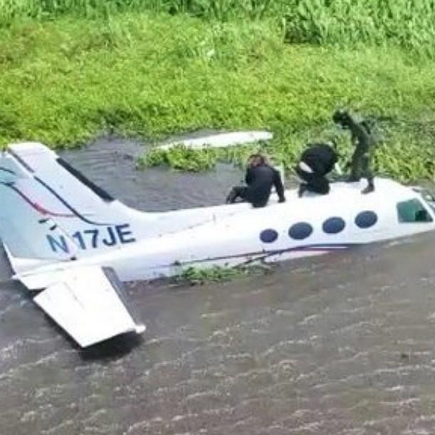 Diario Frontera, Frontera Digital,  AVIONETA, CONGO MIRADOR, Sucesos, ,Inutilizaron presunta aeronave  del narcotráfico en Zulia