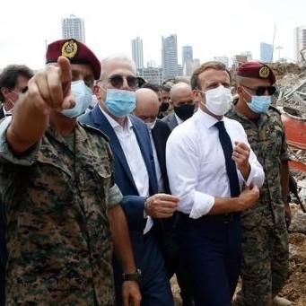 Diario Frontera, Frontera Digital,  MACRON, BEIRUT, Internacionales, ,Macron se pone al frente  de la ayuda internacional a la devastada Beirut