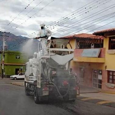 Diario Frontera, Frontera Digital,  LAGUNILLAS, DESINFECCIÓN, JULIO BERTO GUILLÉN, Regionales, ,13 instituciones y 23 sectores de San Juan de Lagunillas   recibieron el operativo de desinfección de los espacios públicos
