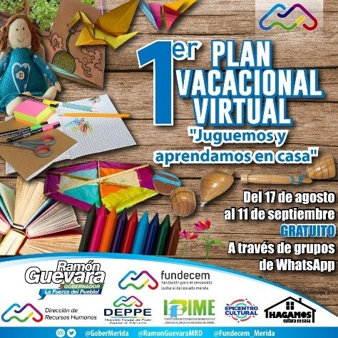 Diario Frontera, Frontera Digital,  PLAN VACACIONAL VIRTUAL, Regionales, ,Gobierno regional  prepara  Plan Vacacional virtual a partir del 17 agosto