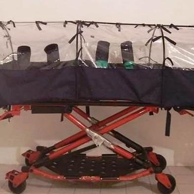 Diario Frontera, Frontera Digital,  cápsula de aislamiento, Salud, ,Jóvenes merideños crean cápsula de aislamiento  para trasladar pacientes con COVID-19