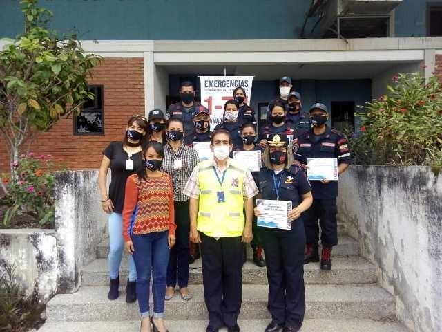 Diario Frontera, Frontera Digital,  GOBIERNO DE MÉRIDA, Regionales, ,Dirección de Seguridad Ciudadana reconoció  labor de bomberos del 171 y Gobernación de Mérida
