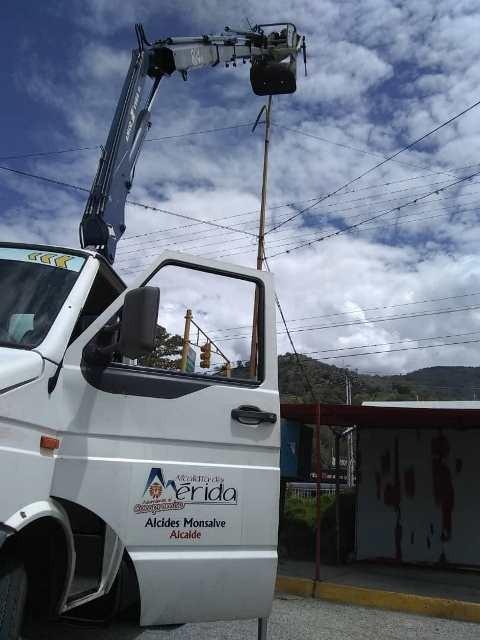 Diario Frontera, Frontera Digital,  ALCALDÍA DE MÉRIDA, Regionales, ,Energía limpia ilumina a Mérida  de la mano de la Alcaldía