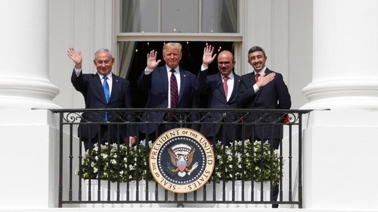 """http://www.fronteradigital.com.ve/Israel celebra firma de acuerdos con EAU y Baréin,  un nuevo camino de """"paz"""""""