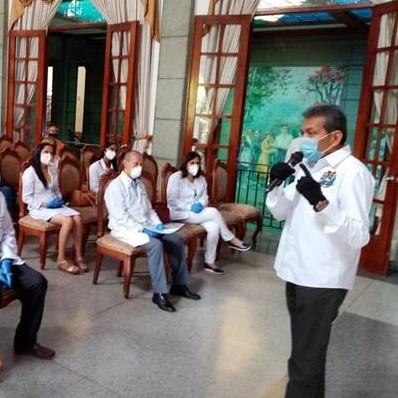Diario Frontera, Frontera Digital,  GOBIERNO DE MÉRIDA, Regionales, ,Médicos del Iahula al frente del coronavirus recibieron incentivos