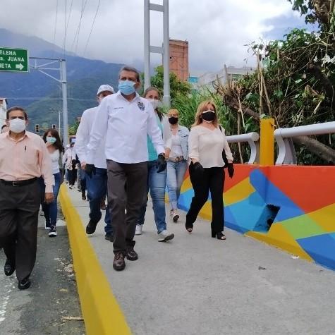 Diario Frontera, Frontera Digital,  GOBIERNO DE MÉRIDA, Regionales, ,Gobernador Ramón Guevara entregó rehabilitación del viaducto Miranda