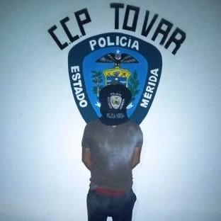 Diario Frontera, Frontera Digital,  TOVAR, Sucesos, ,POLICÍA APREHENDIDO A CIUDADANO  POR ROBO EN UNA VIVIENDA EN TOVAR