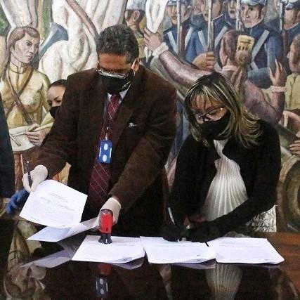 Diario Frontera, Frontera Digital,  GOBIERNO DE MÉRIDA, Regionales, ,Fomdes firmó convenio institucional con la Dirección de Prefecturas
