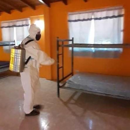 Diario Frontera, Frontera Digital,  CÁMARA MUNICIPAL LIBERTADOR, Regionales, ,Efectuaron  jornada de mantenimiento  y desinfección en área triaje para síntomas respiratorios