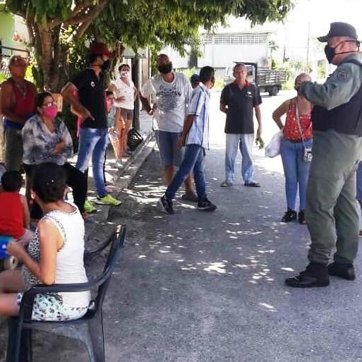 Diario Frontera, Frontera Digital,  GNB-EL VIGÍA, Panamericana, ,GNB-EL VIGÍA REALIZÓ ABORDAJE SOCIAL EN COMUNIDAD HUGO CHÁVEZ
