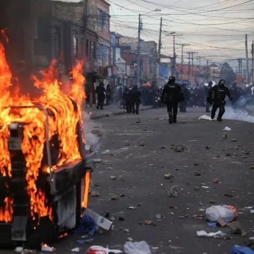 Diario Frontera, Frontera Digital,  PROTESTAS EN COLOMBIA, Internacionales, ,13 muertos, el saldo trágico de las protestas en Bogotá / Colombia