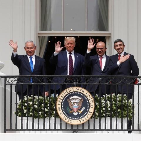 """Frontera Digital,  USA, Internacionales,  Israel celebra firma de acuerdos con EAU y Baréin,  un nuevo camino de """"paz"""""""