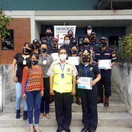 Frontera Digital,  GOBIERNO DE MÉRIDA, Regionales,  Dirección de Seguridad Ciudadana reconoció  labor de bomberos del 171 y Gobernación de Mérida