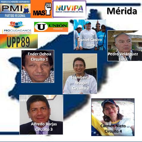 Diario Frontera, Frontera Digital,  ALIANZA OPOSITORA, Politica, ,Nueva Alianza Opositora lanza a la calle sus gallos para el 6D en Mérida