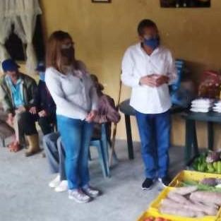 Diario Frontera, Frontera Digital,  GOBIERNO DE MÉRIDA, Mocoties, ,El gabinete social entregó alimentos  y enseres a adultos mayores en Tovar