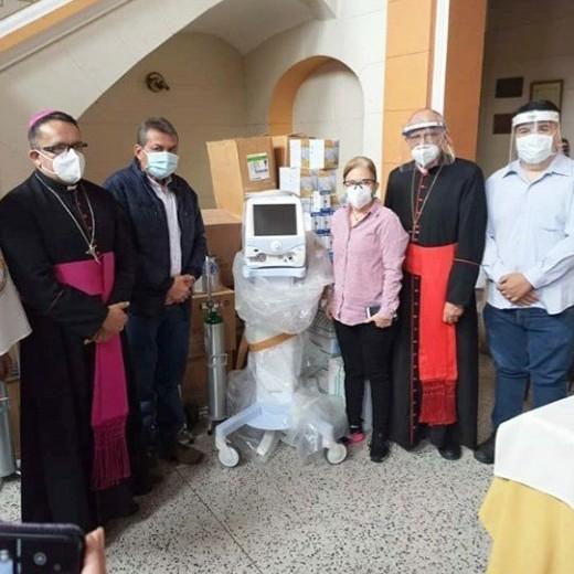 Diario Frontera, Frontera Digital,  CARDENAL BALTAZAR PORRAS CARDOZO, Regionales, ,Cardenal Baltazar Porras entrega al IAHULA material médico enviado por el Papa Francisco