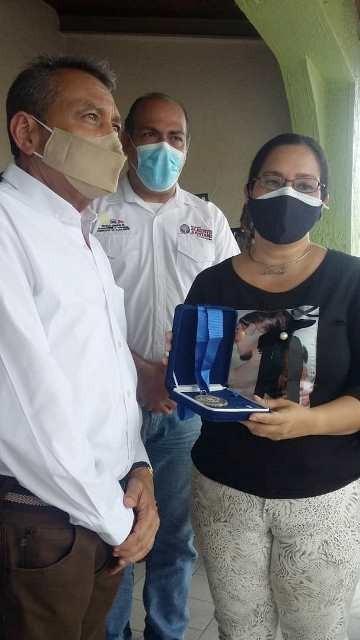 Diario Frontera, Frontera Digital,  GOBIERNO DE MÉRIDA, Panamericana, ,Ramón Guevara otorgó post mortem  la Orden 16 de Septiembre a Humberto Velazco