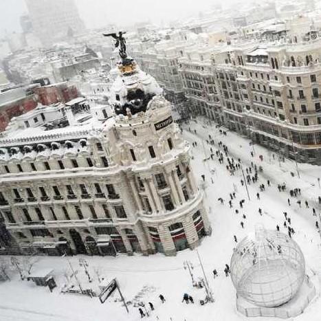 Diario Frontera, Frontera Digital,  TEMPORAL FILOMENA, ESPAÑA, MADRID, NEVADA, Internacionales, ,Madrid comienza a helarse sin autobuses ni aviones