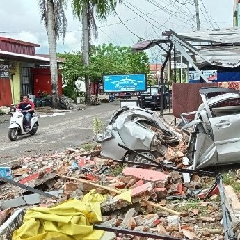 Diario Frontera, Frontera Digital,  TERREMOTO EN INDONESIA, Internacionales, ,Al menos 42 muertos por un fuerte sismo en Indonesia