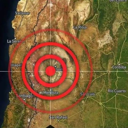 Diario Frontera, Frontera Digital,  SAN JUAN, ARGWNTINA, NUEVO SISMO, Internacionales, ,San Juan: se registró un nuevo sismo de 4 grados  en el mismo lugar que anoche #18Ene