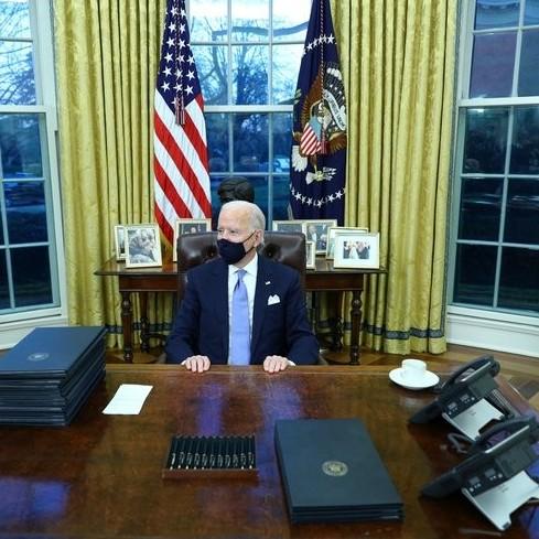 Diario Frontera, Frontera Digital,  JOE BIDEN, Internacionales, ,Joe Biden firmó sus primeros decretos  como presidente de Estados Unidos