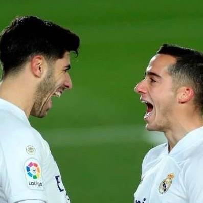 Diario Frontera, Frontera Digital,  REAL MADRID, Deportes, ,Marco Asensio y Lucas Vázquez  sellaron la primera victoria del Real Madrid en 2021