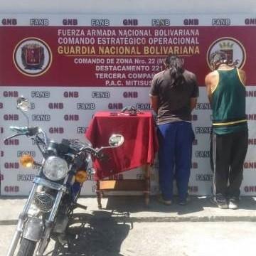 Diario Frontera, Frontera Digital,  GNB, Sucesos, ,GNB desmanteló banda 'Los Parameros' dedicada al robo a mano armada