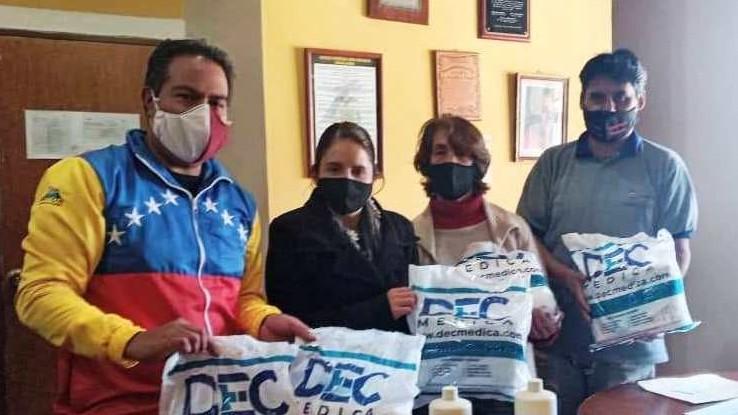 http://www.fronteradigital.com.ve/Alcalde René Barrios entregó kits de bioseguridad al Hospital de Mucuchíes