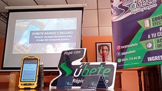 http://www.fronteradigital.com.ve/Súbete, rápido y seguro presentó la tarjeta digital  de pago del transporte en el municipio Santos Marquina