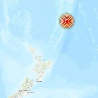 Diario Frontera, Frontera Digital,  TERREMOTO EN NUEVA ZELANDA, Internacionales, ,Potente terremoto de magnitud superior a 7  sacude las costas de Nueva Zelanda