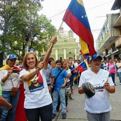 """Diario Frontera, Frontera Digital,  VOLUNTAD POPULAR, Politica, ,Sonia Castro- VP Mérida: """"Hoy nuestros derechos se nos vulneran,  pero la mujer venezolana no se doblega"""""""