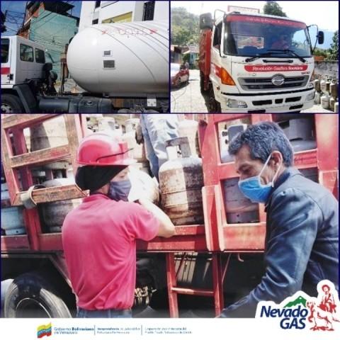 Diario Frontera, Frontera Digital,  NEVADO GAS, Regionales, ,Sector protegido recibió 12.492 litros de gas doméstico por parte de Nevado Gas